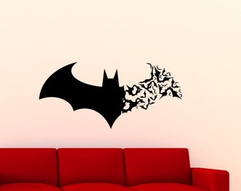 Superbe Batman Wall Decal | Etsy