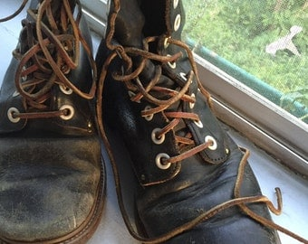 Vintage Men's Work Boots