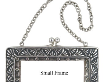 Sterling Silver Purse Frames