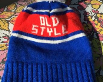 Vintage Old Style Knit Hat