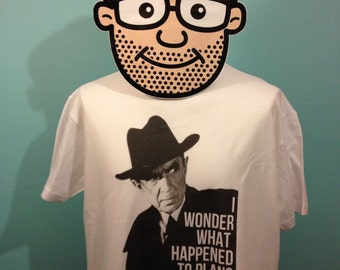 Plan 9 From Outer Space / Bela Lugosi - Cult Film T-Shirt (Ed Wood / Plans 1 Through 8) - White Shirt
