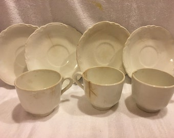Vintage Homer Laughlin Tea Cups