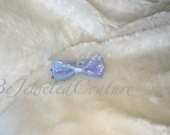 Swarovski Baby/Toddler Bowtie in Light Saphire Blue, Keepsakes
