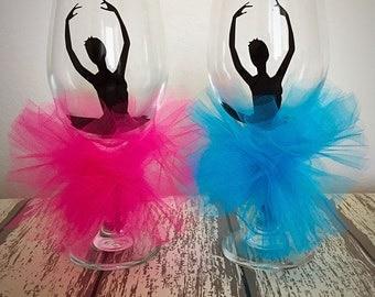 Ballerina Wine Glass