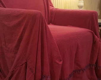 Burgundy Chair Cover