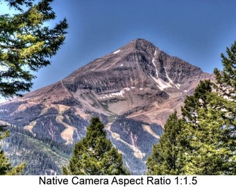 Lone Peak: Landscape art photography prints for home or office wall decor.