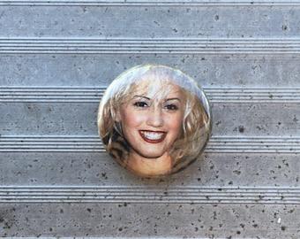 """Gwen Stefani 1"""" Button"""