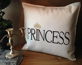 PRINCESS 18x18 Pillow Case