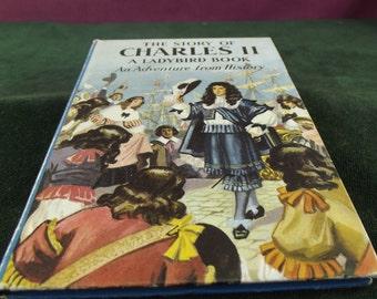 Vintage Ladybird book series 561 Charles II marked  price 2'6
