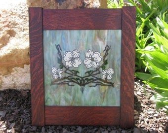 Original: Dogwood Art Glass