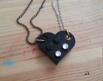 Lego Love Necklace Set