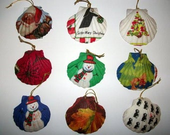 SeaShell Ornaments and decorative pieces for all seasons and all occasions
