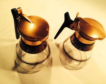 Atomic mini carafe matching set of 2