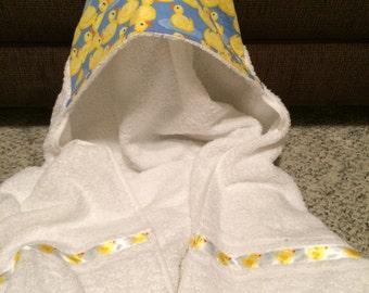 Baby/toddler/child's hooded towel