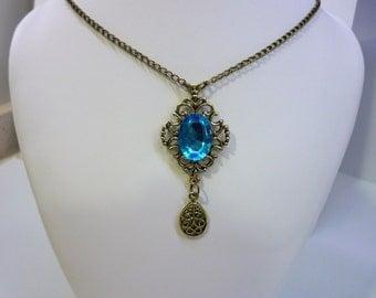 """Necklace """"Bella"""", vintage bronze necklace"""