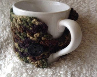 Camouflage Cup Cozy