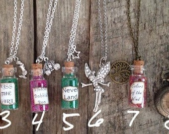 Necklaces inspired by Disney