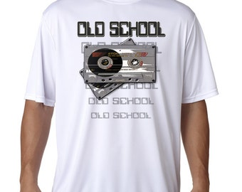 Old School Graphic T-Shirt - Cassette Tapes