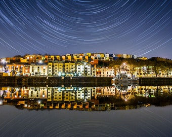 Photo of Hotwells, Bristol with star trails