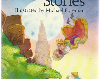 Terry Jones Fantastic Stories illustrated by Michael Foreman (HC, 1992, Vintage Children's Book)