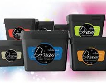 Dream Fondant 2 Pound Containers 14 Different Colors  4 Pack