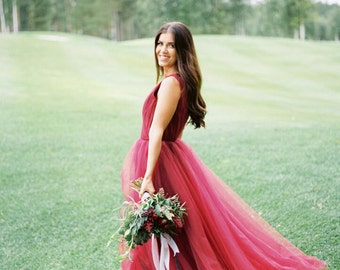 Fairy wedding dress / Malva