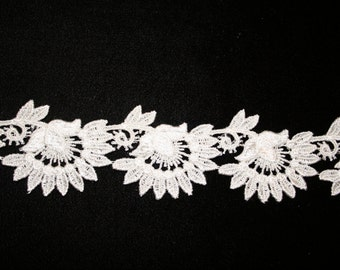 Sunflower Venise Lace - Sold by the yard
