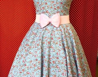 Romatic rockabilly dress