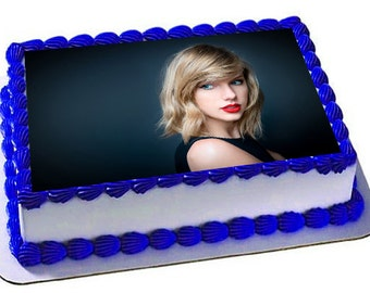 Taylor Swift Cake Topper, Taylor Swift Edible Images, Taylor Swift Frosting Sheet, Cupcake Toppers