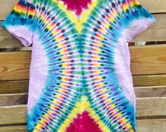 Ladies Large Tie Dye T-Shirt