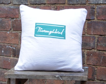 Handmade Thoroughbred Cushion