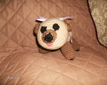 Handcrafted Crochet Lamb