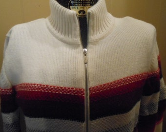 Vintage Liz Claiborne Zipper Sweater