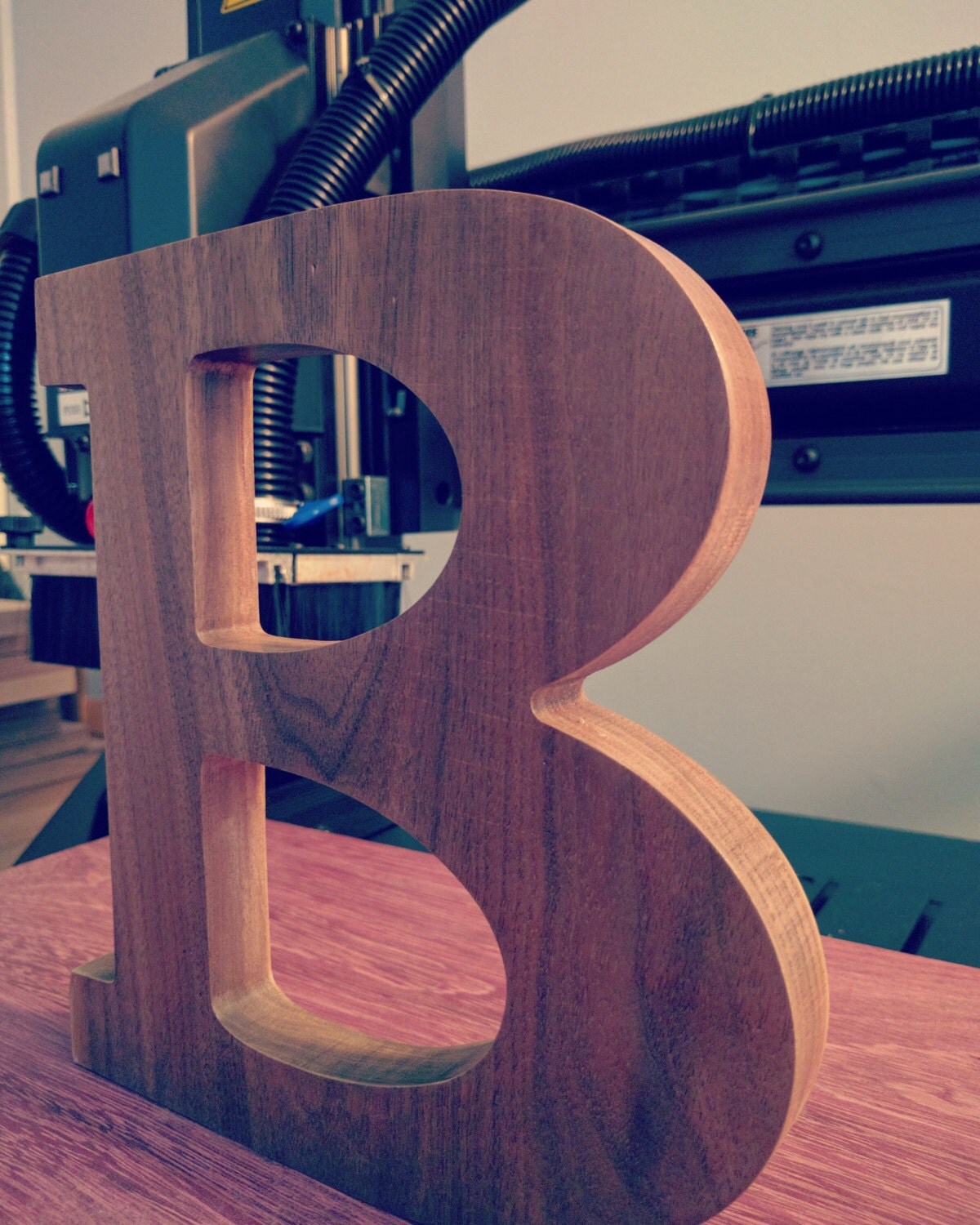 Free Standing Wooden Alphabet Letters Choose Any Letter