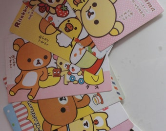 Kawaii/ Cute rilakkuma postcards