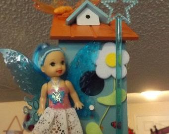 whimsical fairy tree house.