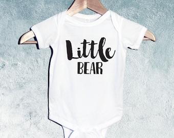 Little Bear Bodysuit orT-shirts, Baby Shower Gift, Gift for Newborn Baby, Gift for Toddler, Gift for baby