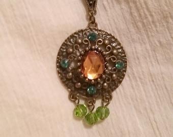 """Pendant Necklace 37"""" Chain"""