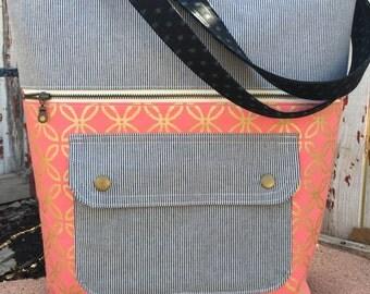 Caravan Tote/Handmade Bag/Tote Bag/Large Bag/Purse