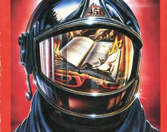 Dystopian art etsy for Mirror quotes in fahrenheit 451