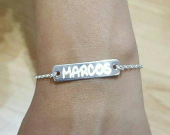 Personalize slave bracelet