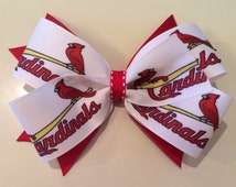 St. Louis Cardinal Hairbow