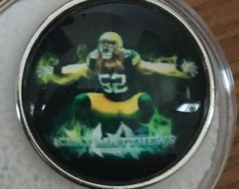 Green Bay Packer Snap Jewelry
