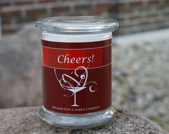 Cheers! Scented Soy Wax Candle