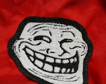 Trollface Coolface Problem Meme Patch