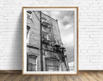 "black and white photography, large art, printable art, instant download printable art, digital download, wall art prints, art - ""Power Grid"""