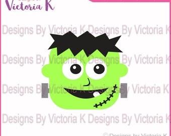 Frankenstein, Halloween,Spooky, SVG, DXF, PNG, Files, Cricut Design Space, Vinyl Cut Files