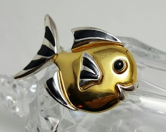Two-Tone Fish Pin