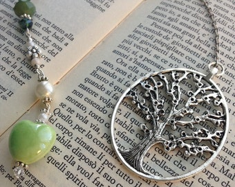 Green Tree bookmark