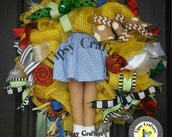 Wizard of Oz Wreath -  Dorothy Wreath